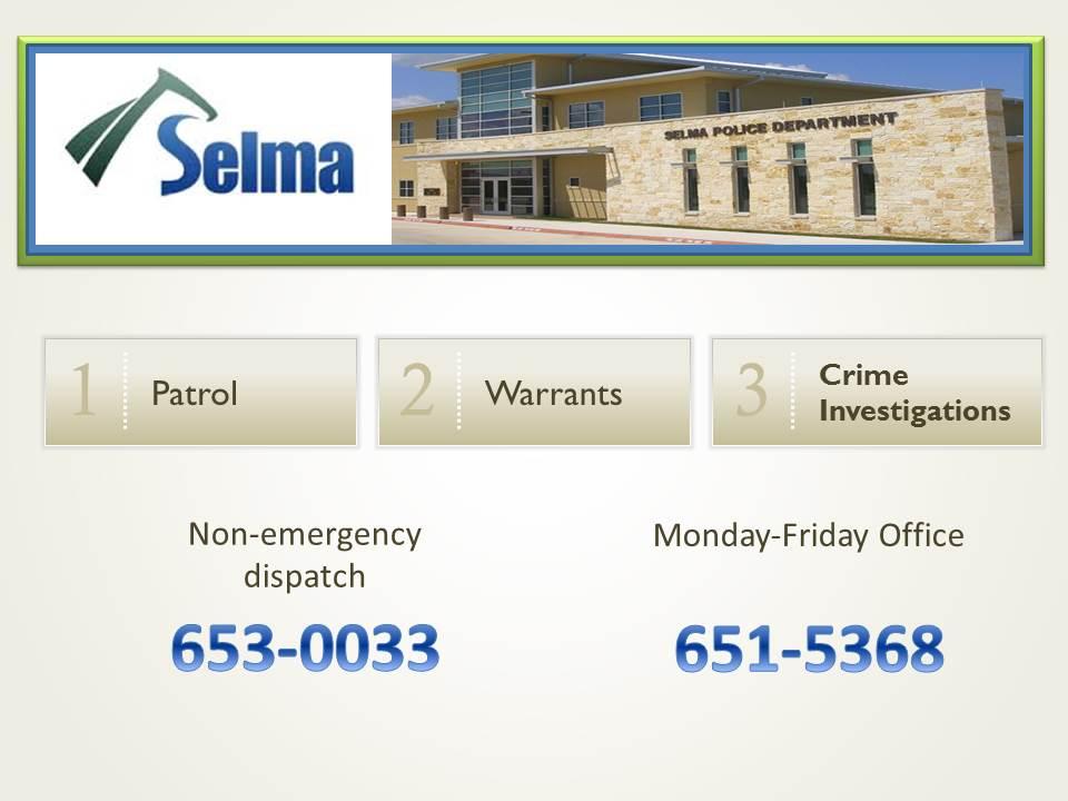 Police selma tx official website chief padula slide2 slide3 sciox Gallery