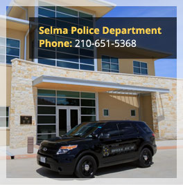 Selma tx official website official website selma police department sciox Gallery